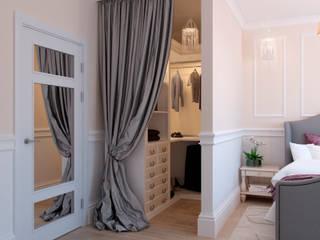Dressing room by Студия дизайна интерьера Маши Марченко, Eclectic