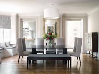 Dining Room Modern dining room by homify Modern
