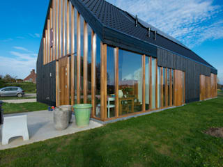 Zwarthout Shou Sugi Ban Modern houses