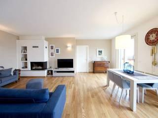 Modularis Progettazione e Arredo Ruang Keluarga Minimalis