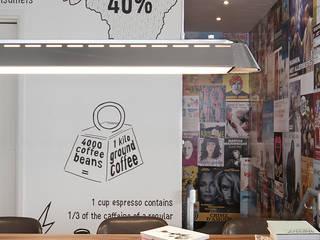 Bars & clubs de style  par ontwerpplek, interieurarchitectuur,
