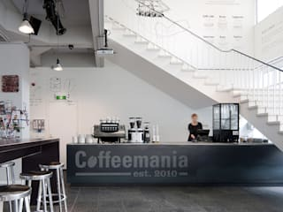 Bares y Clubs de estilo  de ontwerpplek, interieurarchitectuur, Moderno