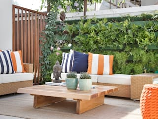 Jardines de invierno de estilo moderno por ANGELA MEZA ARQUITETURA & INTERIORES