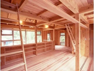 H2O設計室 ( H2O Architectural design office ) Rustic style media room