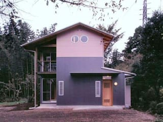 H2O設計室 ( H2O Architectural design office ) Rustic style houses