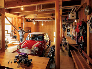 H2O設計室 ( H2O Architectural design office ) Garages & sheds