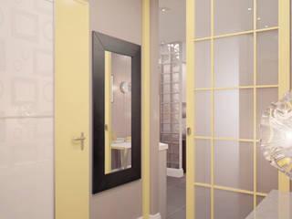 Couloir et hall d'entrée de style  par Marina Sarkisyan, Minimaliste