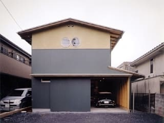H2O設計室 ( H2O Architectural design office ) Case in stile asiatico