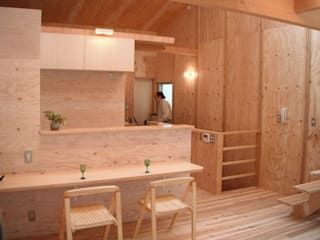 H2O設計室 ( H2O Architectural design office ) Modern dining room