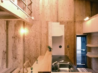 Modern Kitchen by H2O設計室 ( H2O Architectural design office ) Modern