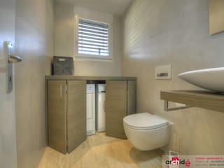 Minimalistische badkamers van Archidé SA interior design Minimalistisch
