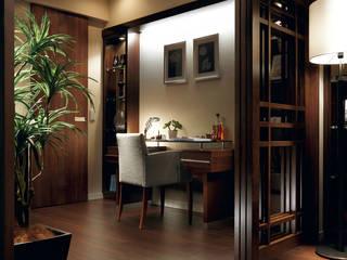 穏やかな時間の流れる住処 STUDIO AZZURRO クラシックデザインの 多目的室