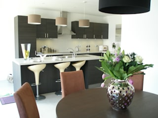 """Oakdale"" complete renovation project Carmarthenshire Modern kitchen by KD DESIGNS LTD Modern"