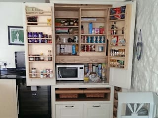 Larder cupboards Hallwood Furniture Kitchen