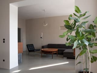 Wohnzimmer: moderne Wohnzimmer von Lennart Häger Architekt