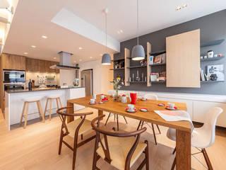 GW's RESIDENCE arctitudesign Minimalist dining room