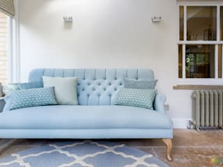 Station Road 'Before & after' Katie Malik Interiors Living roomSofas & armchairs