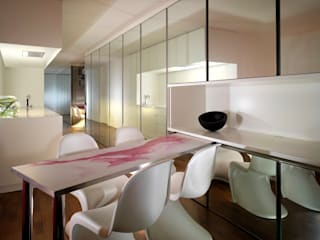 Apartment H Mackay + Partners Modern dining room