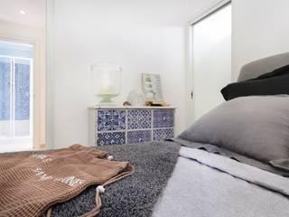 Dormitorios minimalistas de Filippo Fassio Architetto Minimalista