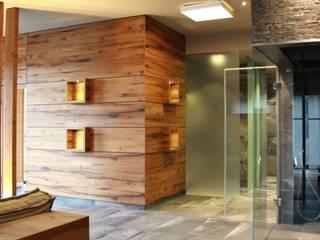 Wellnessbereich Landhaus Nicolai Lohmen Moderner Spa von stonewater Modern