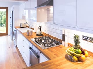 Side Return Extension de FABI Designers & Builders Associates Ltd. Moderno