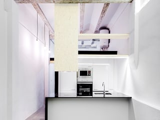 Industrial style kitchen by osb arquitectos Industrial