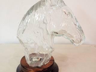 """Lampe design en verre """"Horse"""" par By Bruno Moderne"""
