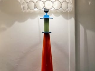 "Lampe ""Big Bubble"" orange par By Bruno Moderne"