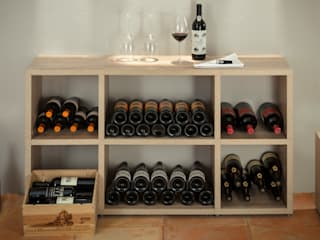 Wine cellar by Regalraum GmbH, Rustic