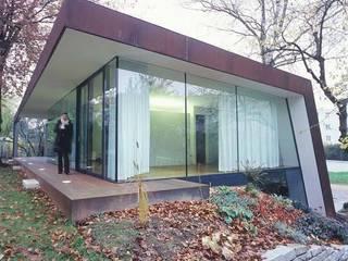 Corten Falthaus:  Häuser von xarchitekten