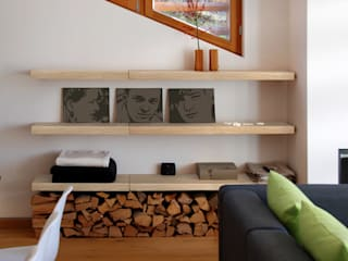 Living room by Regalraum GmbH, Rustic