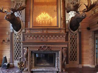 Загородный дом в Конаково:  в . Автор – Trubnikoff Hall