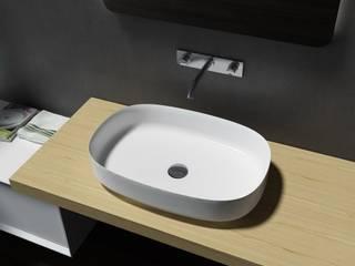Aufsatzwaschbecken aus Mineralguss (Pure Acrylic): modern  von Nextrend GmbH,Modern