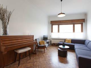 studio k Ruang Keluarga Modern