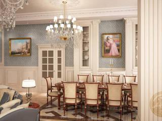 Living room by Anfilada Interior Design, Classic