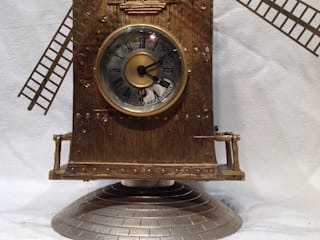 Windmill clock.: classic  by London Antique Clock Centre, Classic