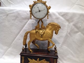 English Empire clock.:   by London Antique Clock Centre
