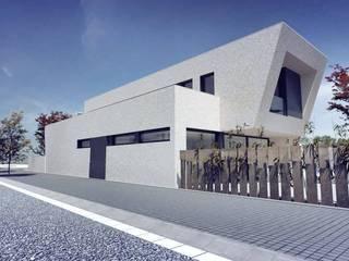 Modern Houses by Acero Modular S.L Modern