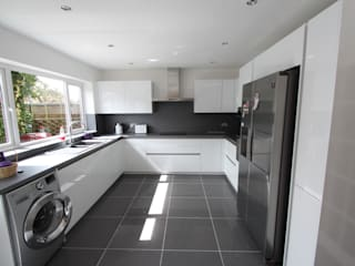 White gloss schuller AD3 Design Limited Kitchen