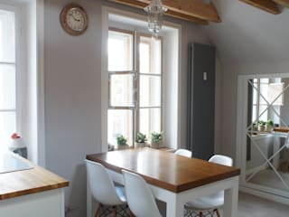 Moje mieszkanie: styl , w kategorii Jadalnia zaprojektowany przez Anna Wrona