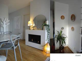 Rénovation complète d'un T3 à Montrouge par CORTOT Architecture Interieure Scandinave