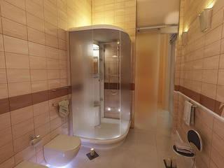 bagno beige: Bagno in stile in stile Moderno di belliniderocco