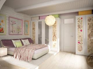 Bedroom by Anfilada Interior Design, Mediterranean
