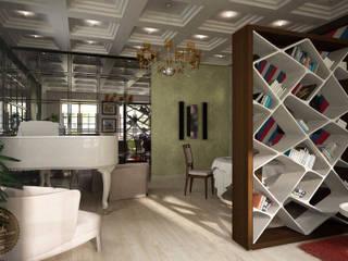 Living room by Anfilada Interior Design, Colonial
