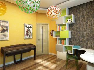 Nursery/kid's room by Anfilada Interior Design, Scandinavian