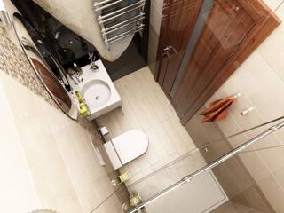 Bathroom by Anfilada Interior Design, Minimalist
