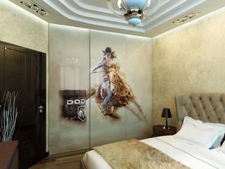 Bedroom by Anfilada Interior Design, Eclectic