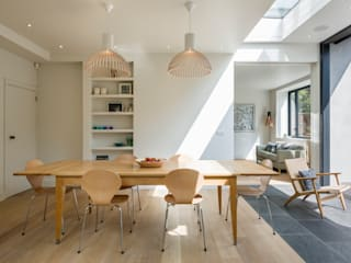 Muswell Hill House 1, London N10 Sala da pranzo moderna di Jones Associates Architects Moderno