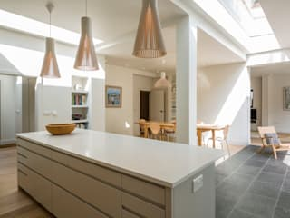 Muswell Hill House 1, London N10 모던스타일 주방 by Jones Associates Architects 모던