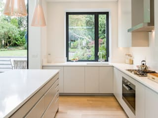 Muswell Hill House 1, London N10 Cocinas de estilo moderno de Jones Associates Architects Moderno